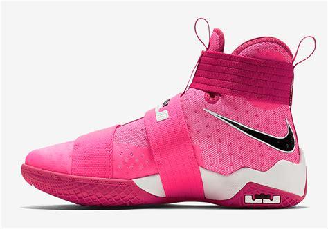 nike lebron soldier 10 yow think pink sneaker bar