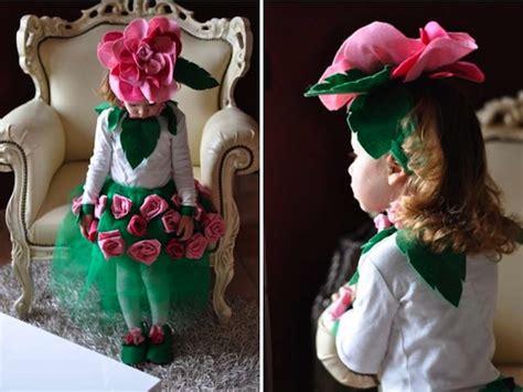 vestito carnevale fiore idee di carnevale il costume da rosa 183 pane e