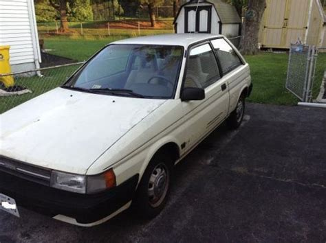 1987 Toyota Tercel Mpg Purchase Used 1987 Toyota Tercel Dx Quot Hatchback A C Low