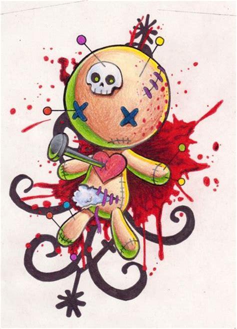 cute voodoo doll drawings voodoo by omedon on deviantart