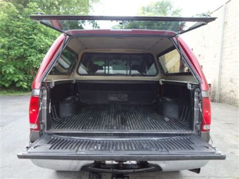 sell used ford f 250 xlt crew cab lariat 4x4 leer bed cap