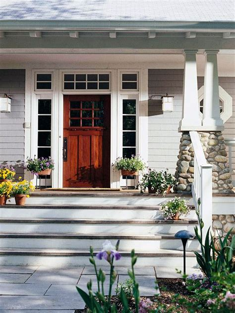 Front Door Curb Appeal 20 Ways To Add Curb Appeal Craftsman Front Porches And White Doors