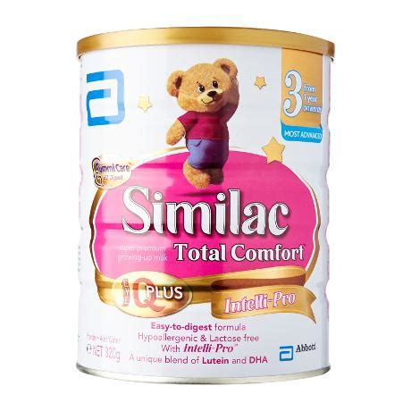 gain plus total comfort abbott similac total comfort stage 3 formula 820g from