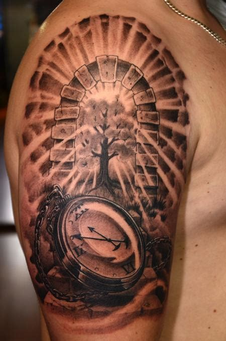 Forgoes Black And Grey For Once by Black And Gray Pocket By Rafael Marte Tattoos