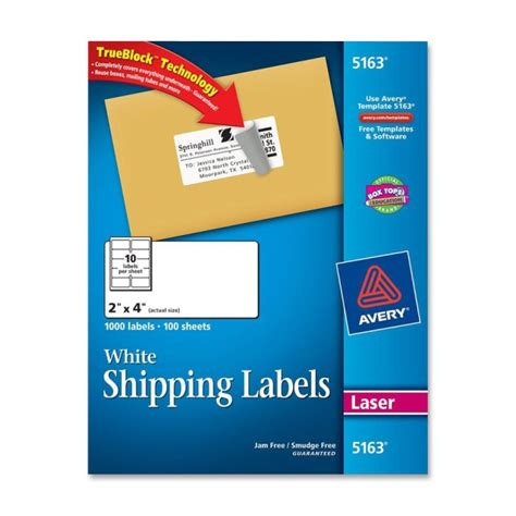 avery label 5163 template word printer