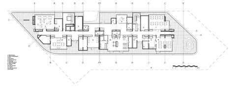 Floor Layout Plans gallery of day care and young workers hostel chartier
