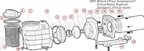 hayward 2 parts diagram hayward ii for swimming pool