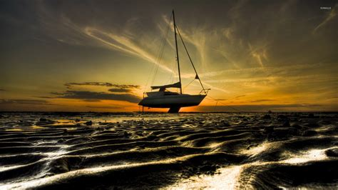 sailboat wallpaper sailboat wallpaper sunset just clouds sailboat