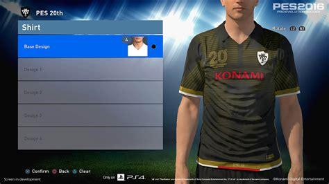cara desain jersey di laptop pes 2016 kit editing ml myclub screens pes patch