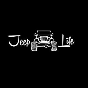 jeep life decal jeep life ii vinyl decal stickers custom sticker shop