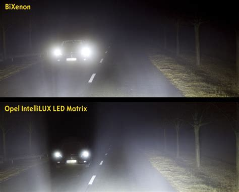 Lu Motor Led Vs Hid 2016 opel astra intellilux headlight award gm authority