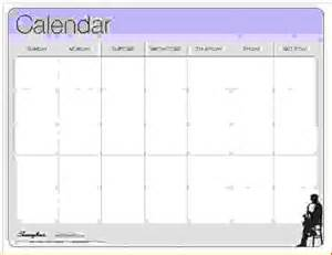 5 week calendar template 5 week calendar template calendar template 2016