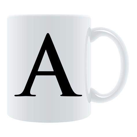 Personalized Letter Mug   Q8eGifts.com