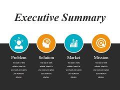 executive summary slide geeks