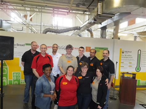 daily bread food bank volunteer day end to end networks