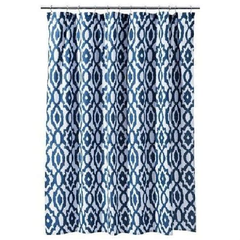 Blue Ikat Shower Curtain Www Imgkid Com The Image Kid
