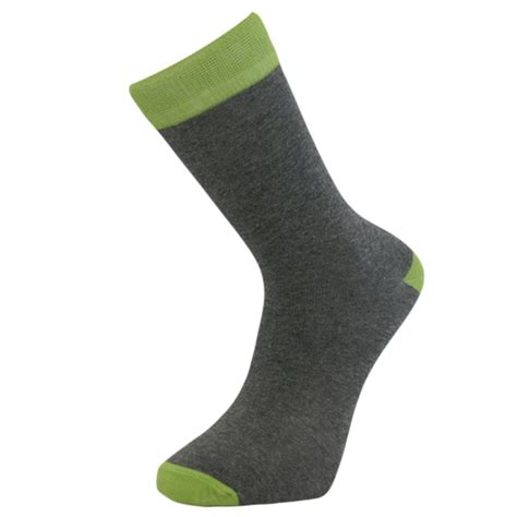 comfortable socks mens comfortable cotton ankle socks grey with colored band