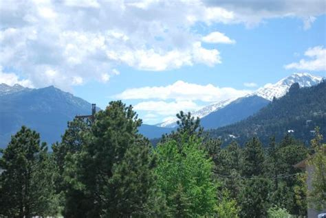 comfort inn estes park colorado this is the view when i walked out the door picture of
