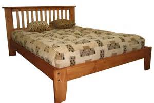 Country Style Wooden Bed Frames Country Style Wood Bed Frame