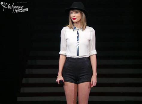 taylor swift tour philippines taylor swift live in manila photos and videos philippine