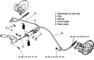 Mx5 Brake System Diagram Repair Guides Parking Brake Cables Autozone
