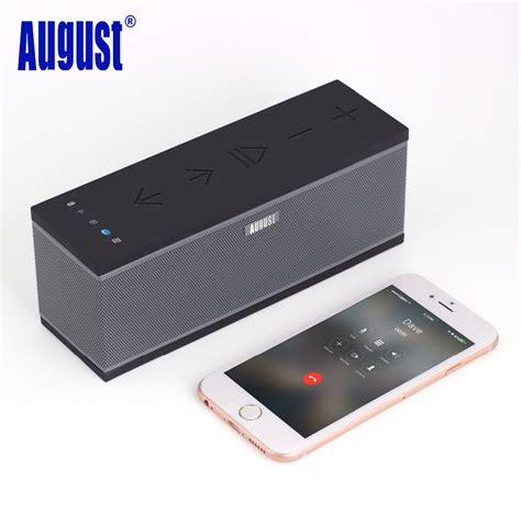 Speaker Wifi august ws300 wireless wifi speaker for multiroom portable bluetooth speakers with sound system