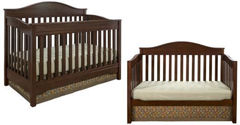 Eddie Bauer 3 In 1 Convertible Crib Only 129 47 Shipped Eddie Bauer Baby Crib