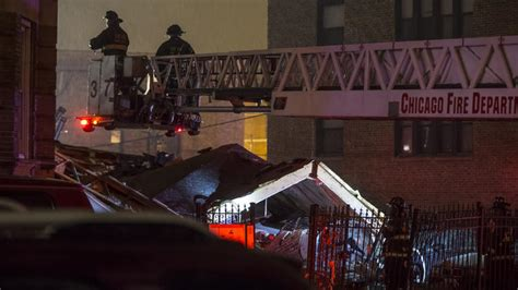 Chicago Apartment Collapse Apartment Building Explodes Collapses In Washington Park