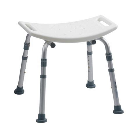 bathroom bench height adjustable height bath bench without backrest