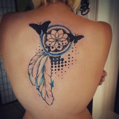 tattoo dreamcatcher butterfly 55 dreamcatcher tattoos tattoofanblog