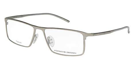 Porsche Design Titanium Glasses by Porsche Design P8184 B Eyeglasses In Matte Titanium