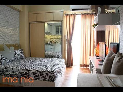tips desain apartemen studio desain interior type studio apartement city light youtube