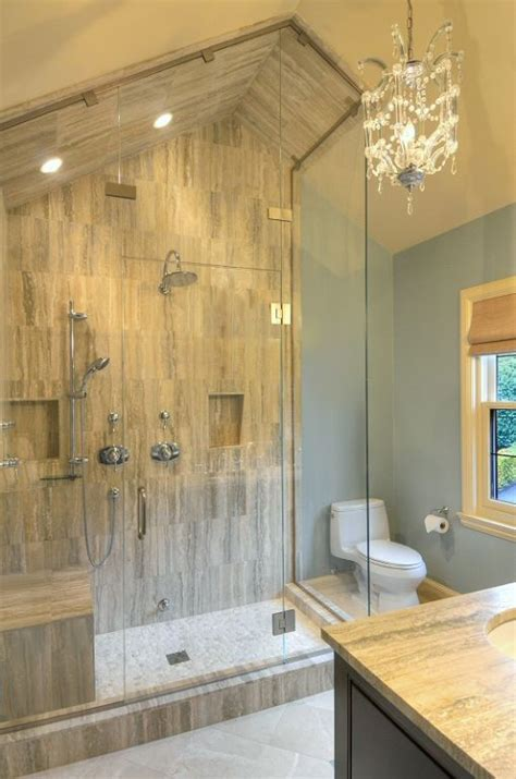 Beautiful Bathroom Showers Beautiful Bathroom Transformations Transforming Decor Home Staging And Redesign