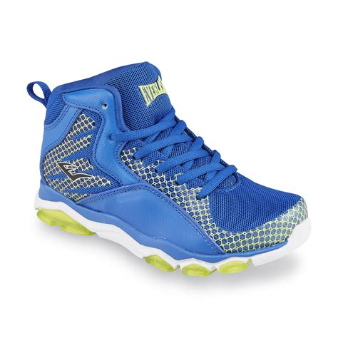 everlast basketball shoes everlast 174 boy s achron blue green basketball shoe shop