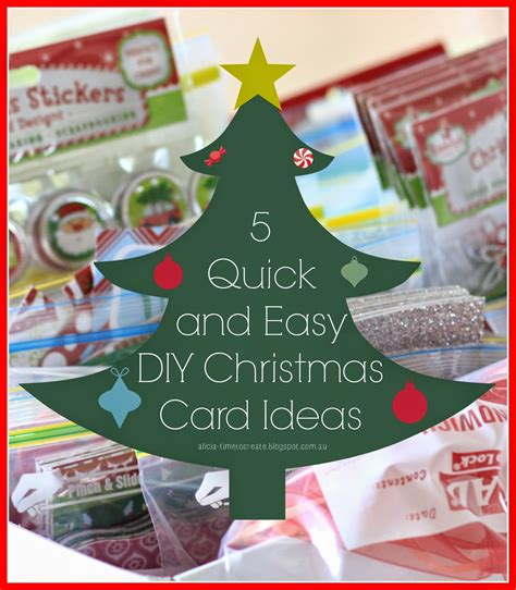 easy card for time to create 5 and easy diy card ideas
