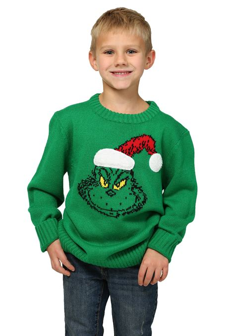 Sweater Boys how the grinch stole boys sweater