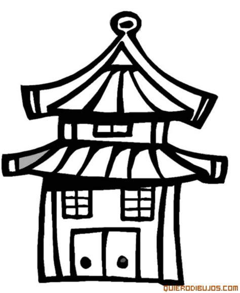 japon imagenes para colorear edificio de japon