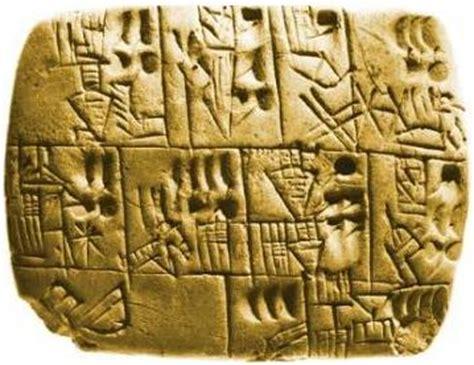 tavole sumeriche l altra genesi come l uomo ha imparato a contare storia