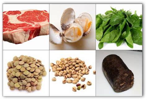 alimentos ricos en hierro embarazo alimentos que contienen hierro buena salud
