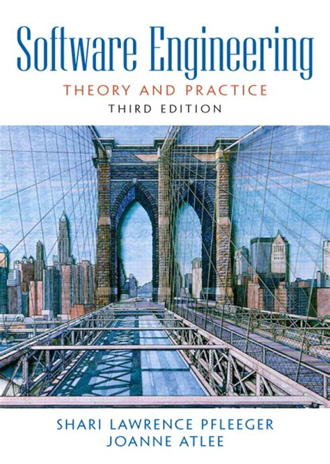 engineering noise theory and practice fourth edition books pfleeger atlee software engineering theory and