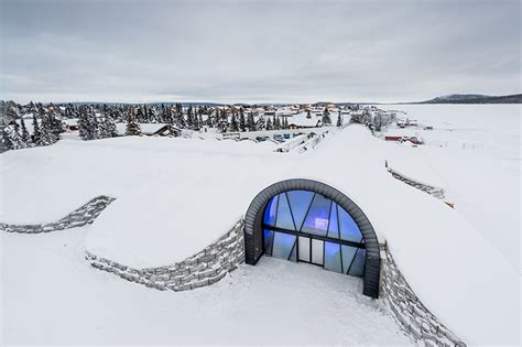 designboom icehotel icehotel 365 opens north of the arctic circle