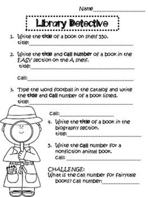 Library Skills Worksheets by 17 Best Ideas About Library Activities On