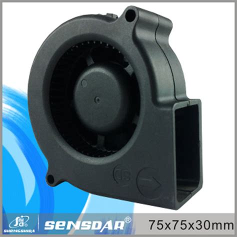 Kipas Angin Blower Kecil penjualan panas dc plastik kecil blower udara dingin kipas untuk pendinginan 7530 5 v 12 v 24 v