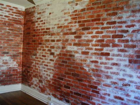 painting a faux brick wall lindas webpage