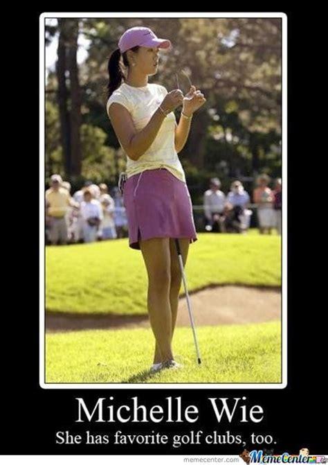 Funny Golf Meme - michelle wie by samarth meme center