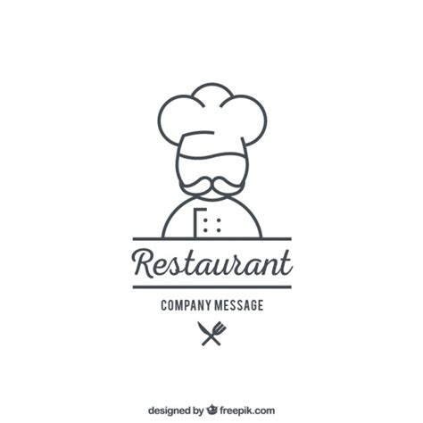 Gourmet Home Kitchen Design by Restaurant Logo Template Vector Premium Download
