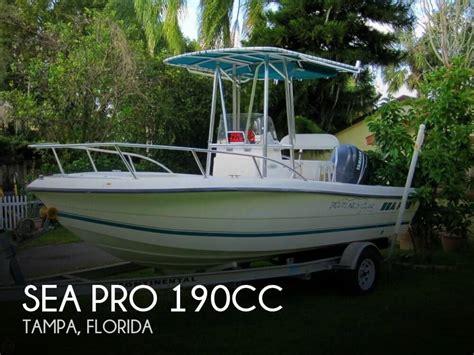 sea pro boats for sale florida sold sea pro 190cc boat in ta fl 140946