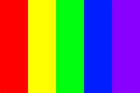rainbow color palette strong hue rainbow color palette