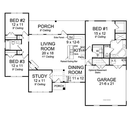 open house floor plan best open floor house plans cottage house plans