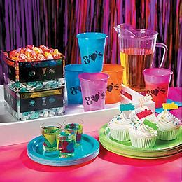 80s party supplies oriental trading 200 picture perfect party themes and cool party ideas
